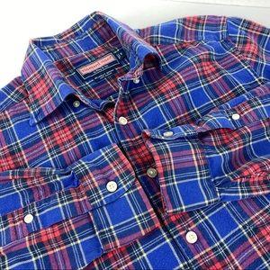 Vineyard Vines Murry Flannel Shirt Soft Unisex SZS